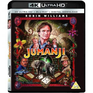 Jumanji [4K Ultra HD|Blu-Ray|UV]