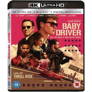 Baby Driver [4K Ultra HD|Blu-Ray]