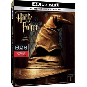 Harry Potter i Kamień Filozoficzny  [4K Ultra HD|Blu-Ray]