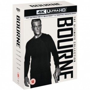 Bourne Ultimate Collection [4K Ultra HD|Blu-Ray|UV]
