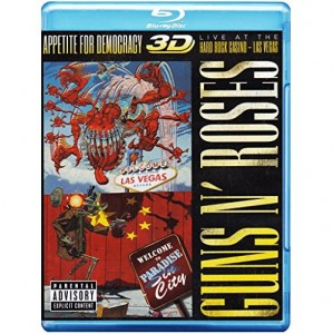 Guns N' Roses - Appetite For Democrazy [Blu-Ray 3D|2D]